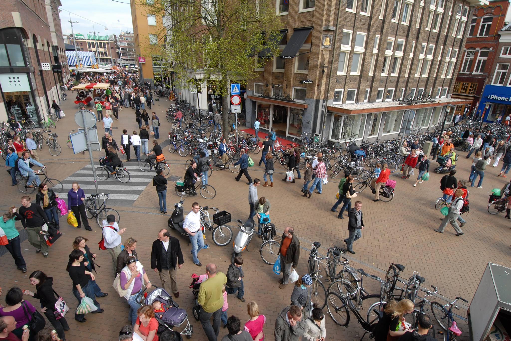 Nieuwe binnenstad met pleintjes en groen